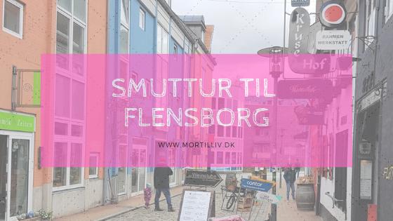 Smuttur til Flensborg med en baby