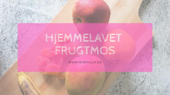Hjemmelavet frugtmos