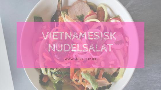 Opskrift: vietnamesisk nudelsalat