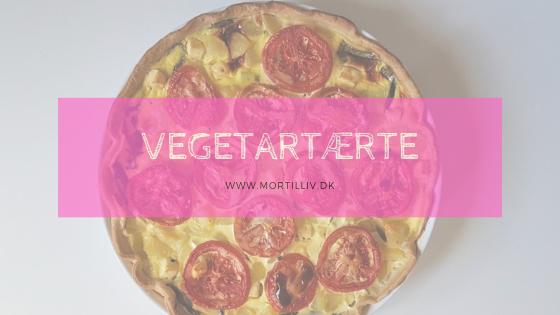 Opskrift: vegetartærte