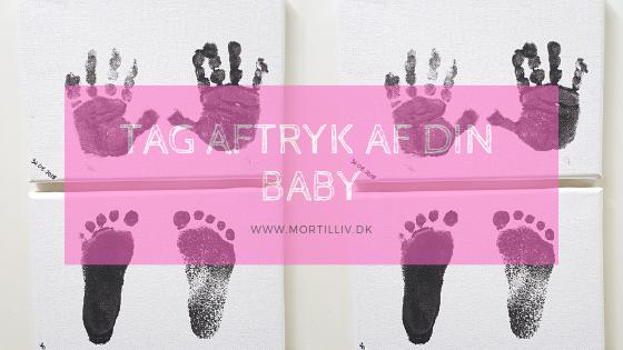Tag aftryk af din baby