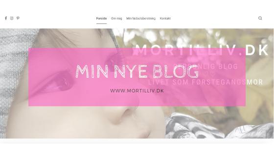 Velkommen til min nye blog!