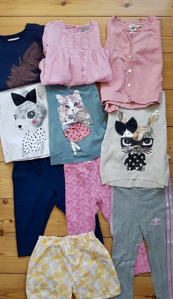 Brugt børnetøj