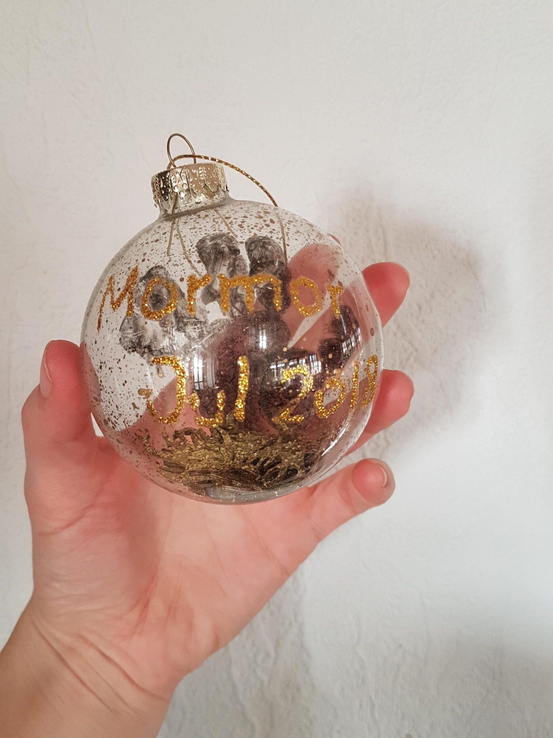 DIY: julekugler med navn